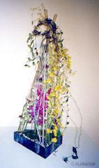 フラワーアレンジメント 生花 蘭