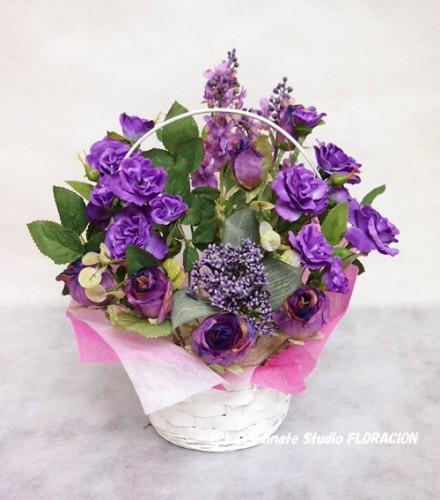 シルクフラワー 造花 フラワーアレンジメント