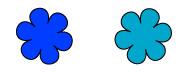 パーソナルカラー フォーシーズンズ クール&ウォーム 青色