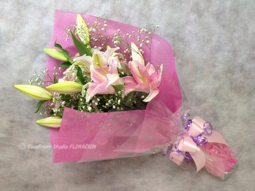 花束 百合 生花