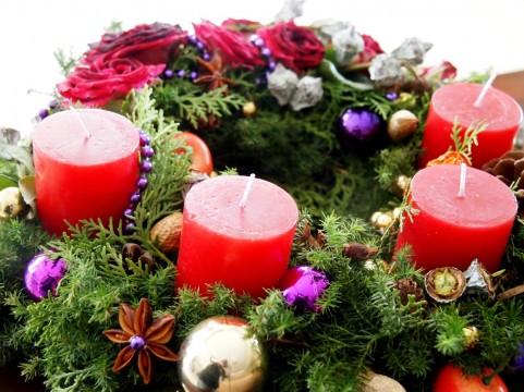 クリスマス アドベント リース