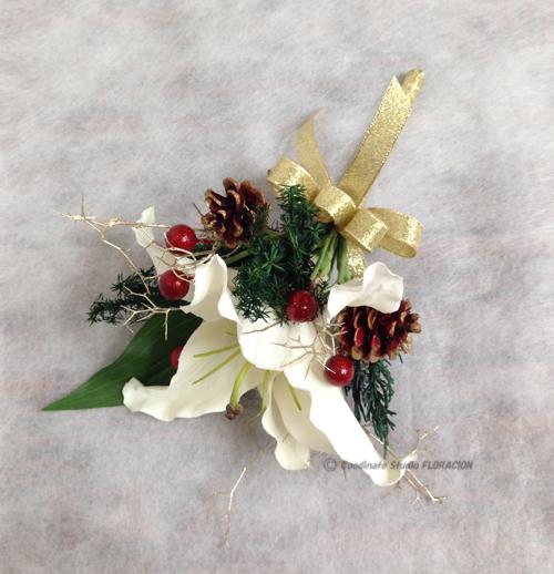 ブトニア 手作り クリスマスカラー