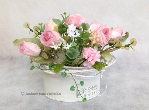 シルクフラワー 造花 アレンジメント 早春