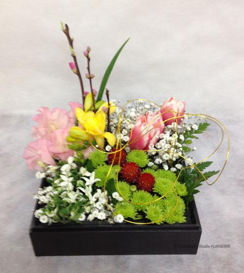 フレッシュフラワー 生花 アレンジメント ひなまつり