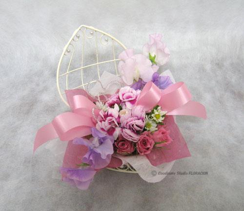 フレッシュフラワー 生花 ホワイトデー アレンジメント ハート