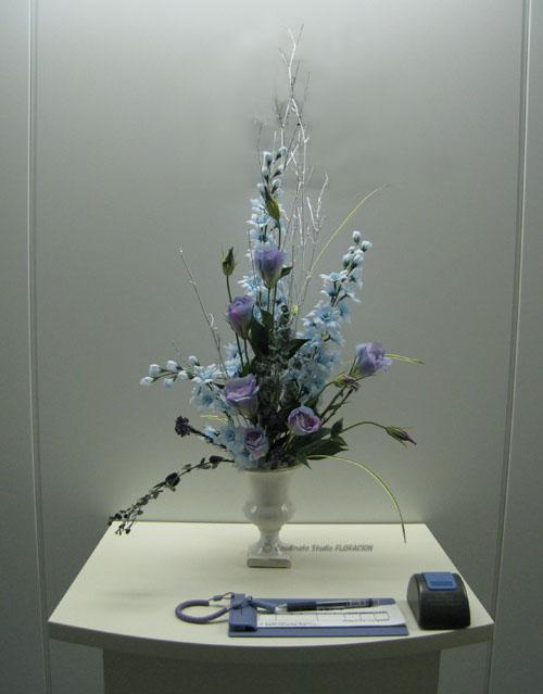 シルクフラワー 造花 アレンジメント 受付