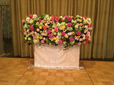 日本フラワーデザイナー協会 NFD 大阪支部40周年記念事業